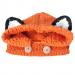 Cappellino Volpe 3 anni arancio, bianco e nero