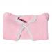 Scaldacuore bambina 5 mesi lana rosa antico e grigio