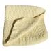 Copertina culla e lettino 80cm x 70cm lana colore giallo