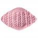 Coprispalle bambina 1 anno lana rosa antico
