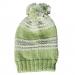 Cappellino 1 anno verde, bianco e grigio