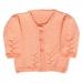 Giacchina bambina 1 anno lana rosa salmone